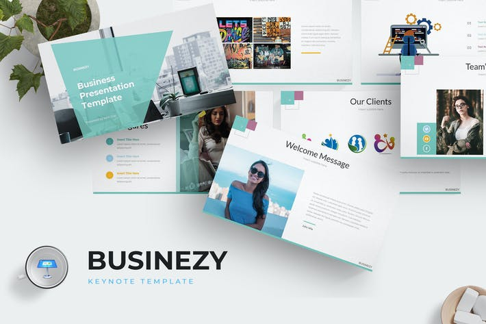 Cover Image For Businezi - Keynote Template