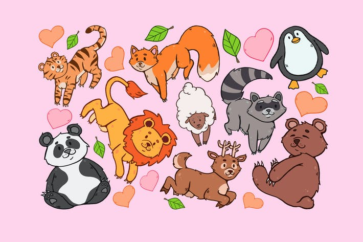 Cover Image For Animal Variety Clipart