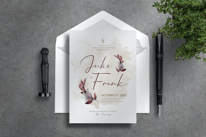 Thumbnail for Invitation de mariage de luxe