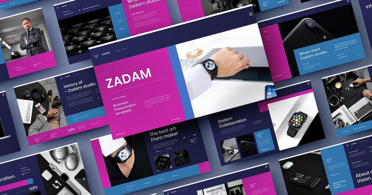 Download Zadam – Business PowerPoint Template by DensCreativeStudio