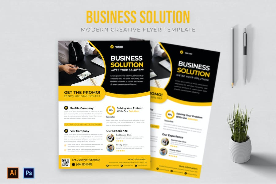 Business Solution - Flyer AC