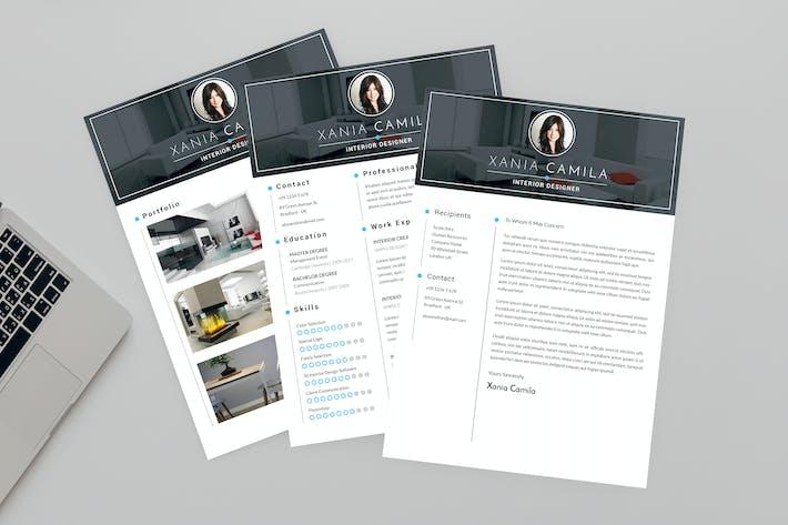 Thumbnail for Creed CV Resume Designer