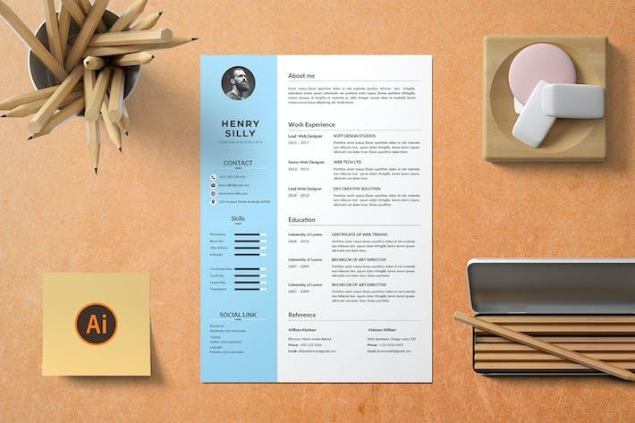 Thumbnail for CV Resume