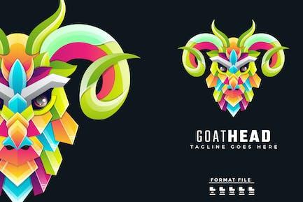 Goat Colorful Logo