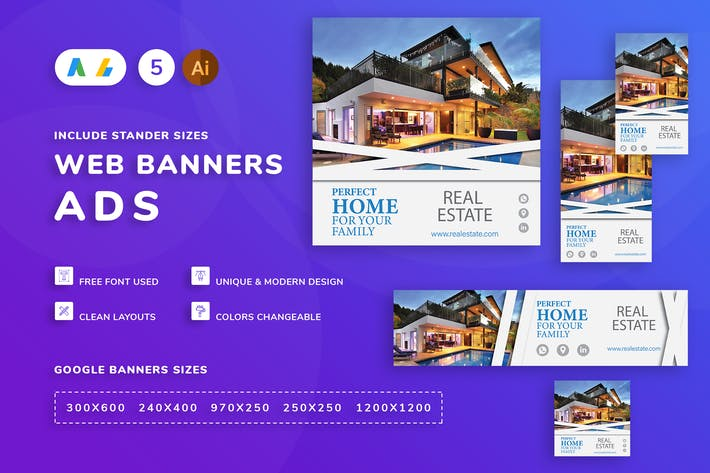 Thumbnail for Real Estate Banner