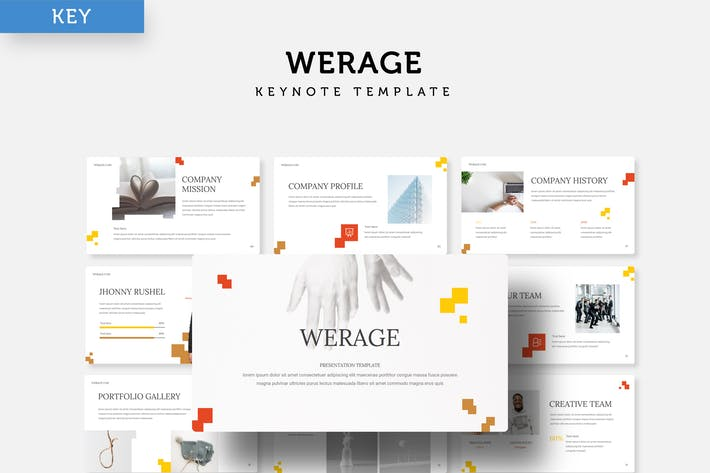 Thumbnail for Werage - Keynote Template