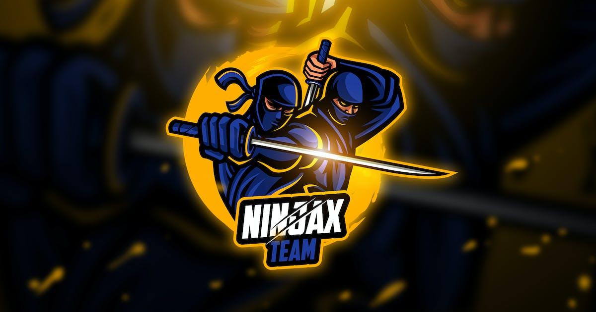 Download Ninja 4 - Mascot & Esport Logo by aqrstudio