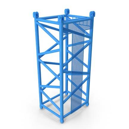 Crane D Intermediate Section 6m Blue