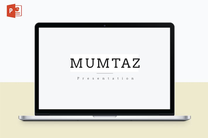 Thumbnail for MUMTAZ - Multipurpose PowerPoint Template V45