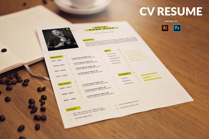 Thumbnail for CV Resume Creative And Innovative