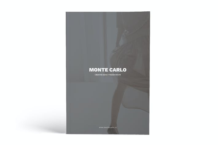 Thumbnail for Monte Carlo Creative Agency A4 Brochure Template