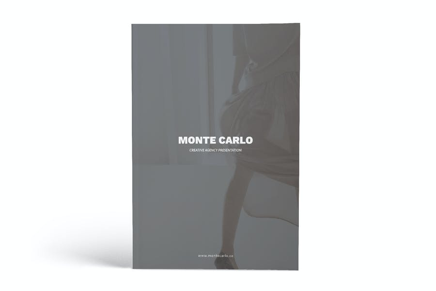 Monte Carlo Creative Agency A4 Brochure Template