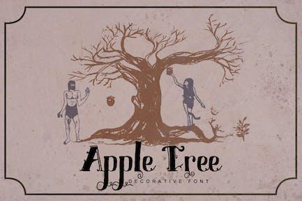 Apple Tree - Decorative Font