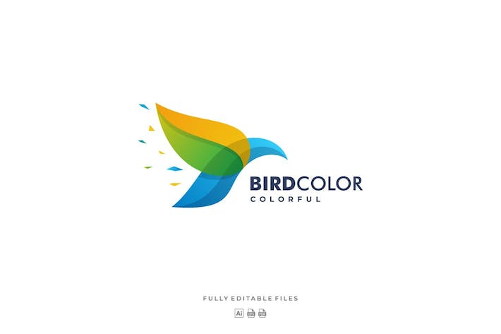 Thumbnail for Bird Color Gradient Logo