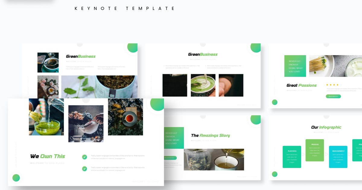Download Creations - Keynote Template by aqrstudio