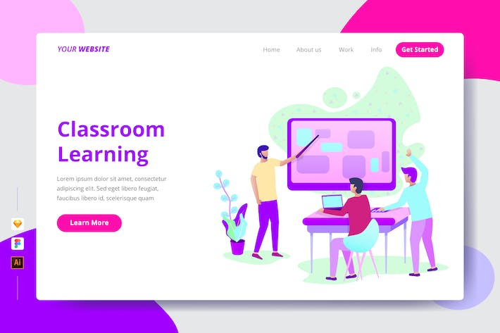 Thumbnail for Classroom Learning - Landing Page