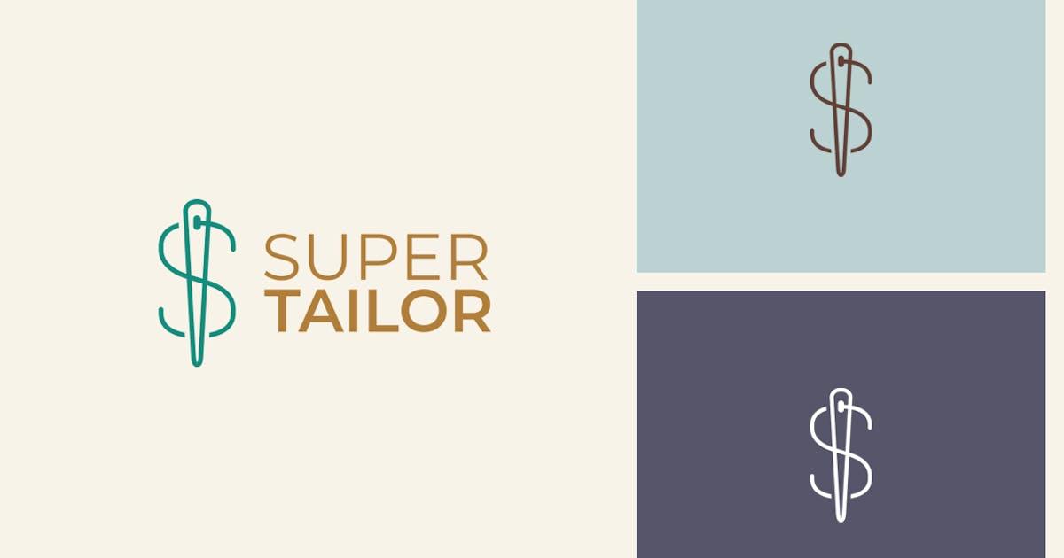 Download Super Tailor S Letter Logo by sagesmask