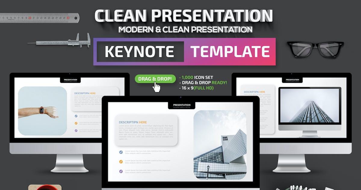 Download Clean Keynote Presentation by mamanamsai