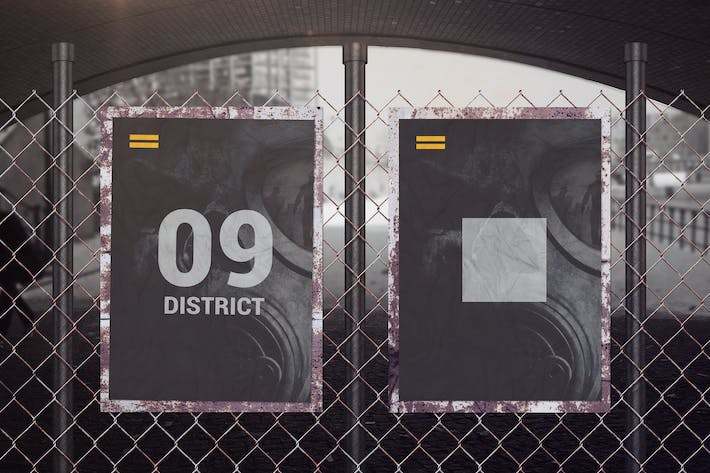 Thumbnail for Street Poster Mockups 02