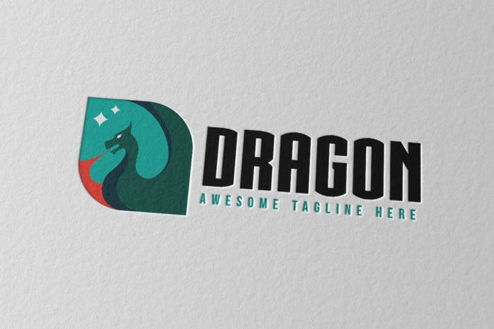 Thumbnail for Dragon Logo 4