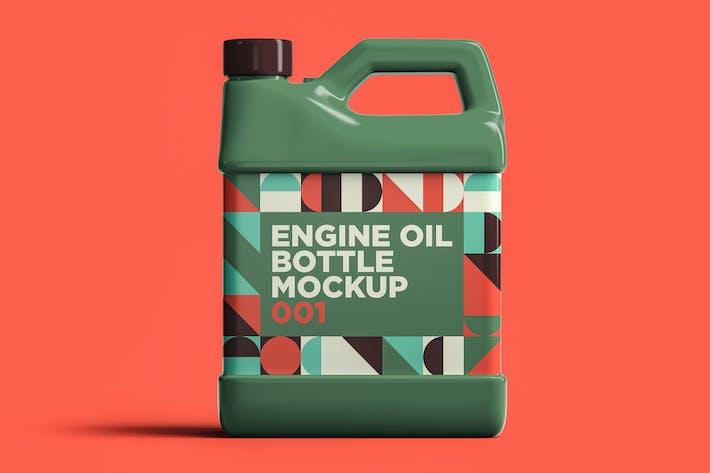 Thumbnail for Bouteille d'huile moteur Mockup 001