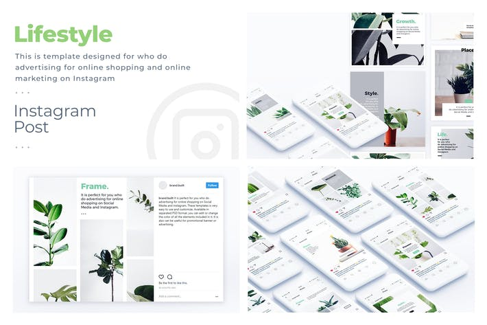 Thumbnail for Lifestyle Instagram Template