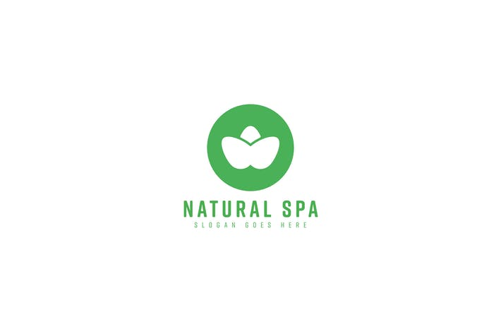 Natural Spa Logo Template
