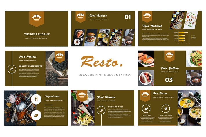 Cover Image For Resto Powerpoint Presentation