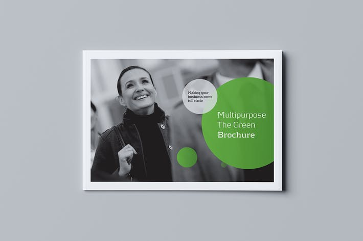 Cover Image For Green Business Brochure