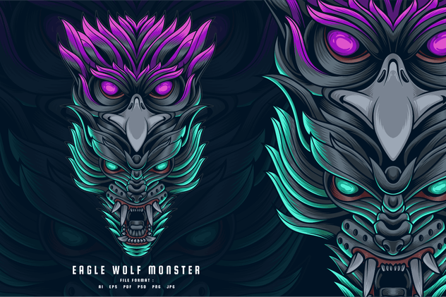 Eagle Wolf Monster