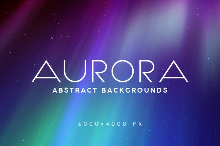 Thumbnail for 30 Aurora Space Backgrounds