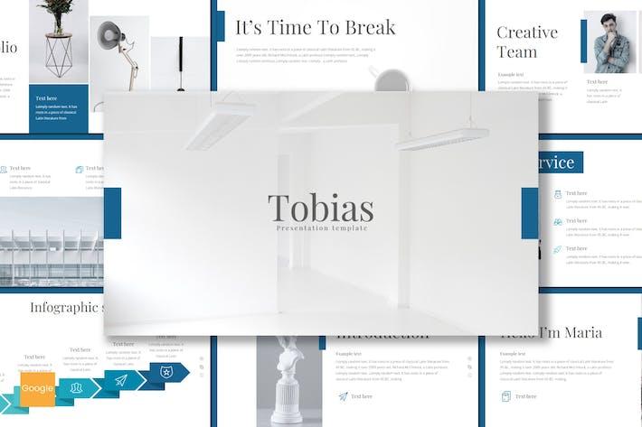 Thumbnail for Tobias - Google Slides Template