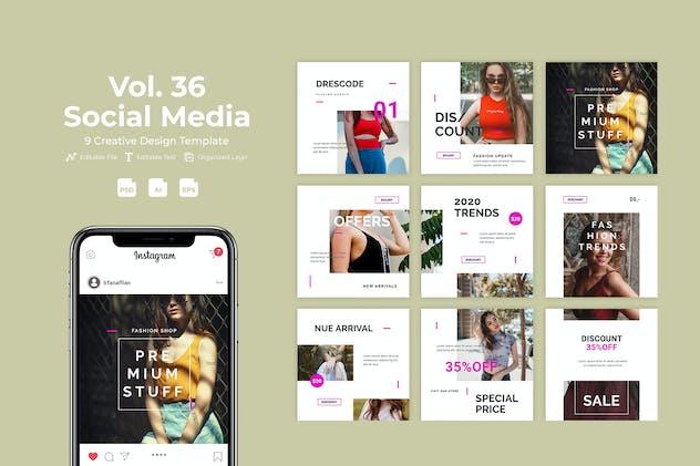 Fashion Social Media Kit Vol. 36