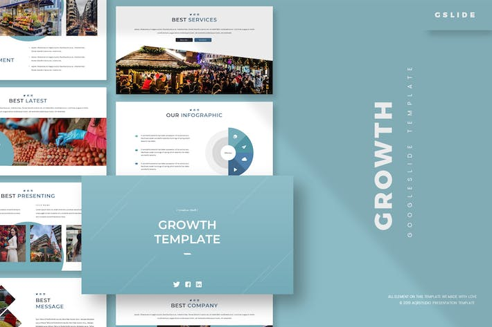 Thumbnail for Growth - Google Slides Template