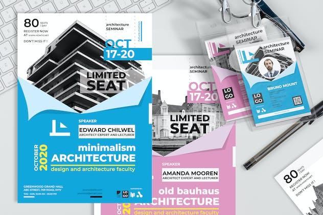Architectural Study - Seminar Invitation