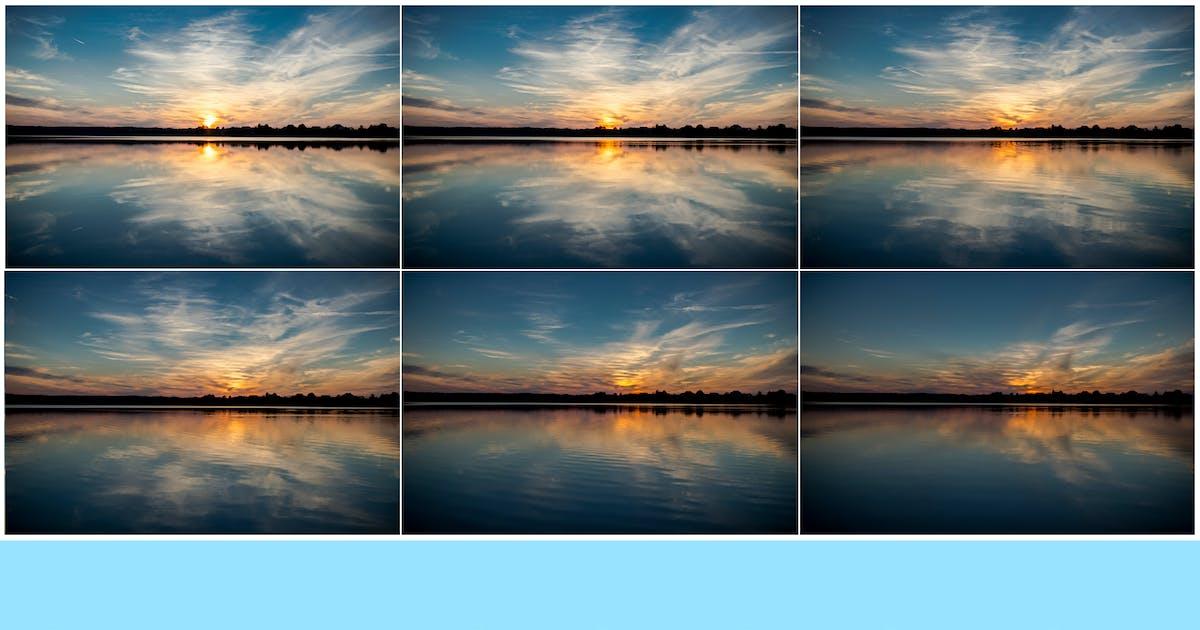 Download 8K UltraHD Sunset Sky Reflections Backgrounds by SinCabeza