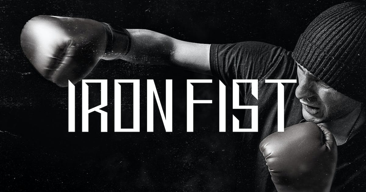 Download Ironfist - Strong Condensed Display Sans by naulicrea