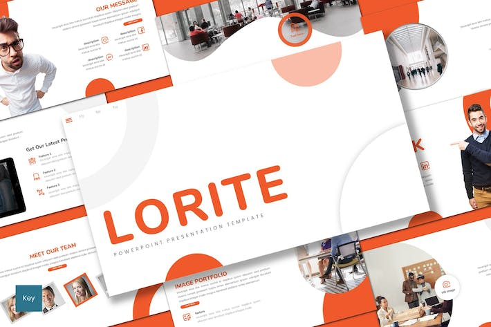Thumbnail for Lorite - Business Keynote Template