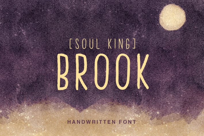 Thumbnail for Brook Handwritten Font