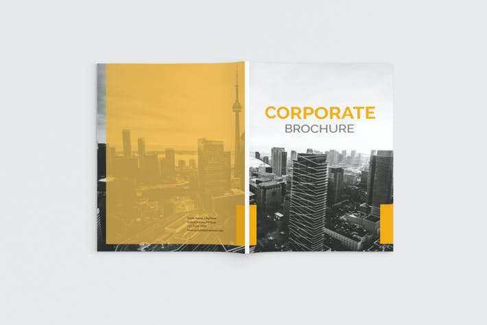 Thumbnail for Yellow Corporate Magazine