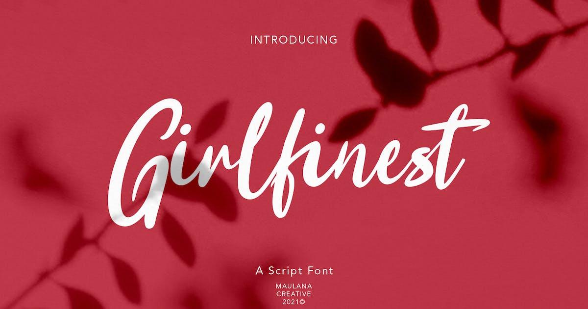 Download Girlfinest Script Font by maulanacreative