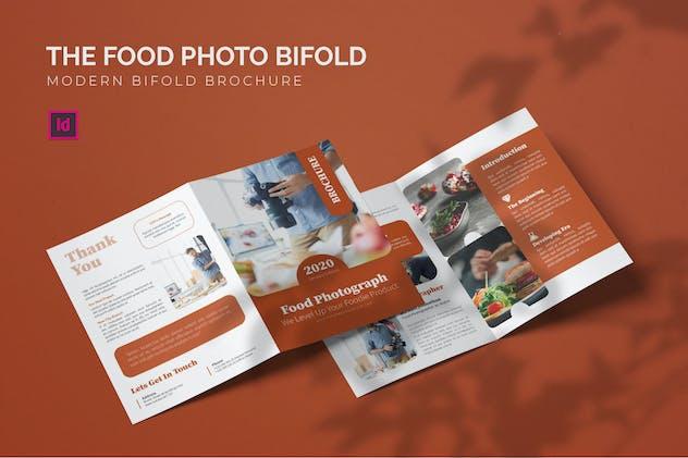 Food Photo - Bifold Brochure