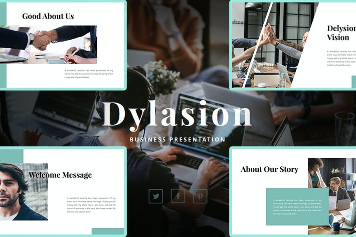 Thumbnail for Dylasion – Business PowerPoint Template
