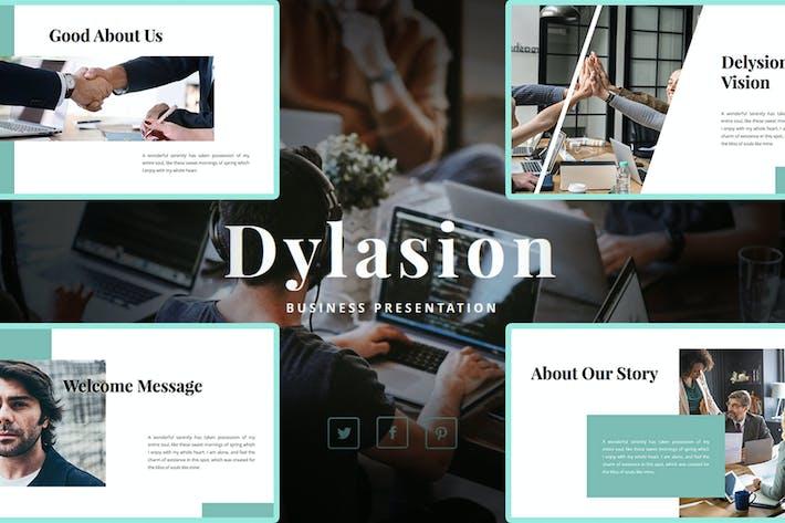 Dylasion — бизнес-Шаблон PowerPoint