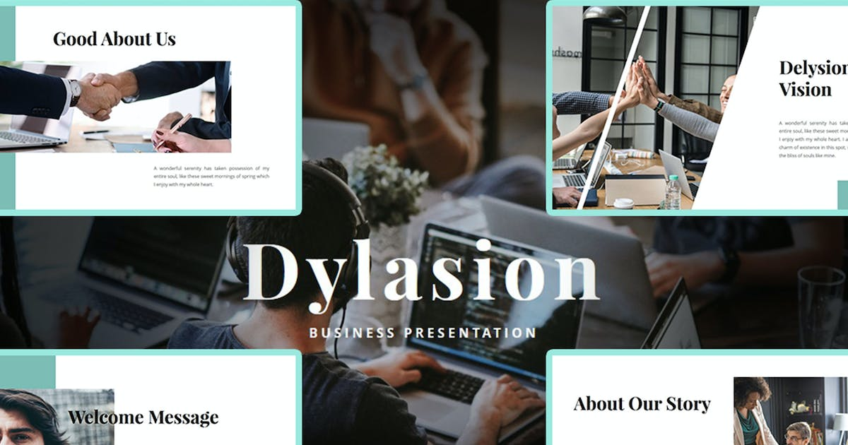 Download Dylasion – Business PowerPoint Template by raseuki