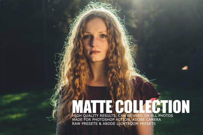 Thumbnail for Matte Tone Collection Lightroom Presets