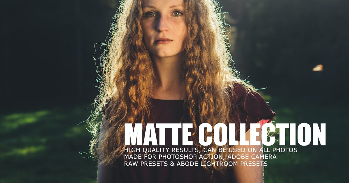 Download Matte Tone Collection Lightroom Presets by creativetacos