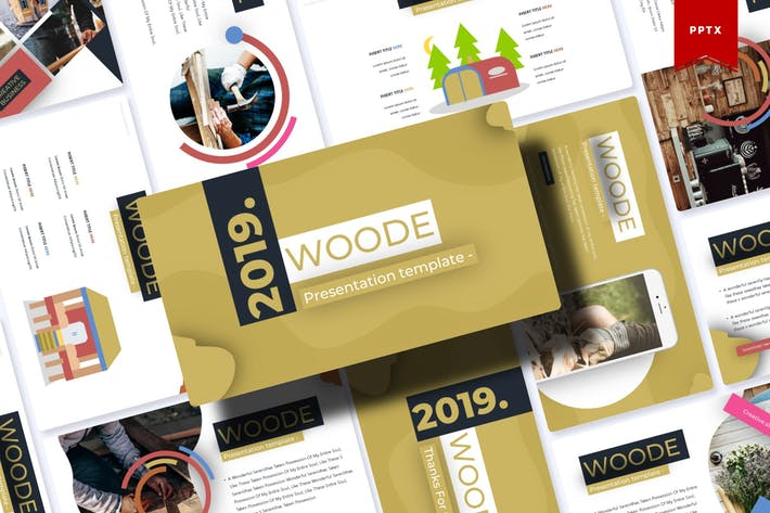 Thumbnail for Woode | Powerpoint Template