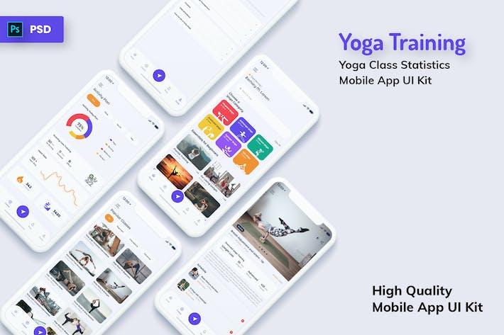 Thumbnail for Yoga Class Mobile App Light Version