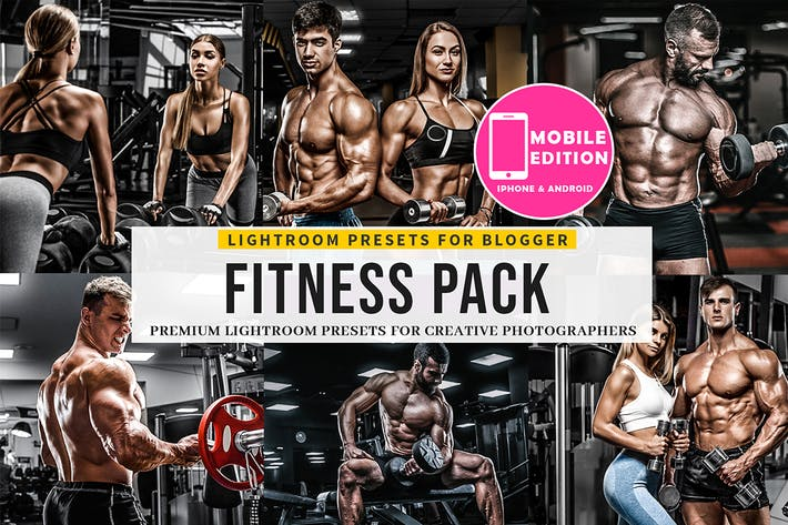 Thumbnail for Fitness Lightroom Presets